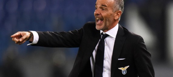 ROME, ITALY - SEPTEMBER 25:  Head coach Stefano Pioli of Lazio issues instructions during the Serie A match between SS Lazio and Udinese Calcio at Stadio Olimpico on September 25, 2014 in Rome, Italy.  (Photo by Tullio M. Puglia/Getty Images)