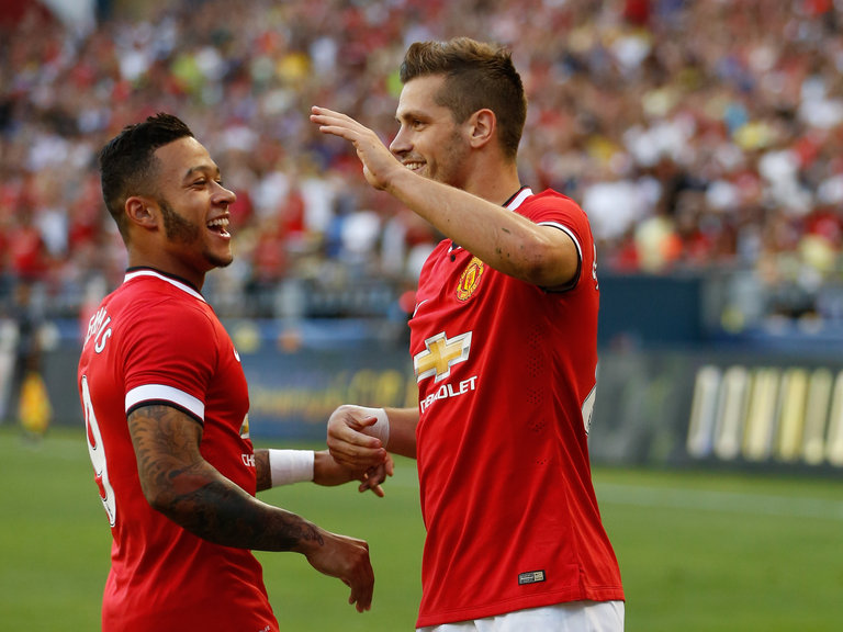 schneiderlin-morgan-and-memphis-depay